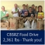 CBSRZ Food Drive for SSKP Fills the Shelves